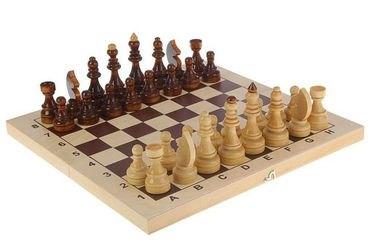 Фото Шахматы Гроссмейстерские (турнирные) с доской (С-4а/б/ШК-4)