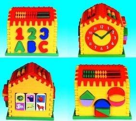 Фото Развивающая игрушка логический домик Алисы (П-391)