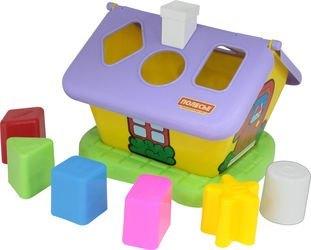 Фото Развивающая игрушка сортер Садовый домик (3354)
