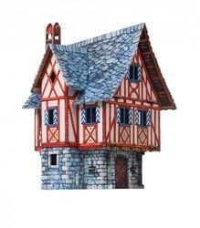 Фото Сборная модель из картона Дом Kупца (379)