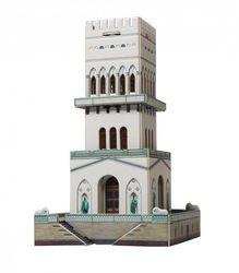 Фото Сборная модель Белая башня (г. Пушкин) 1/300 (406)