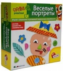 Фото Настольная обучающая игра Веселые портреты (R55098)