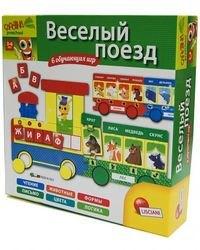Фото Настольная обучающая игра Веселый поезд (R53117)
