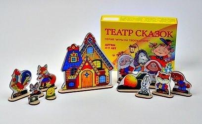 Фото Игровой набор Театр Сказок на столе