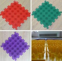 Фото Массажный коврик модульный Орто пазл Кактус жесткие (8 модулей)