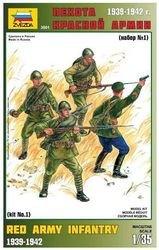 Фото Сборная модель Пехота Красной Армии №1 (3501)