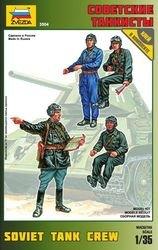Фото Сборная модель Советские танкисты (3504)