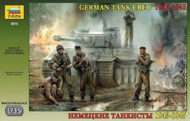 Фото Сборная модель Немецкие танкисты (3614)