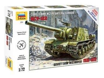 Фото Сборная модель Советский истребитель танков ИСУ-122 (5054)