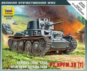 Фото Сборная модель Немецкий танк Т-38 (6130)