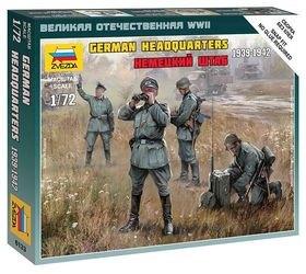 Фото Сборная модель Немецкий штаб 1939-1942 гг. (6133)
