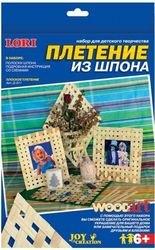 Плетение из шпона плоское (Д-011) фотография 1