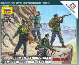 Фото Сборная модель Немецкие горные стрелки (6154)