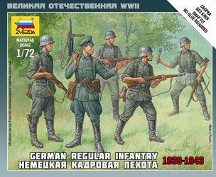 Фото Сборная модель Немецкая кадровая пехота (6178)