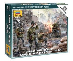 Фото Сборная модель Немецкая элитная пехота (6180)