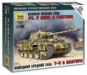 Фото Сборная модель Немецкий танк Пантера (6196)