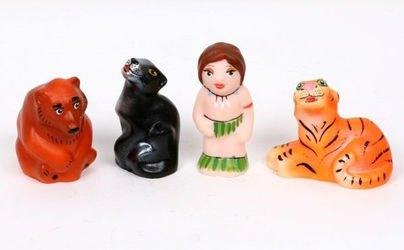 Фото Набор фигурок Маугли (пластизоль) СИ-420/СИ-307