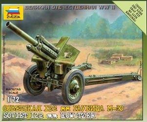 Фото Сборная модель Советская 122 мм гаубица М-30 (6122)