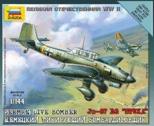 Фото Сборная модель Немецкий самолет Ю-87 (6123)