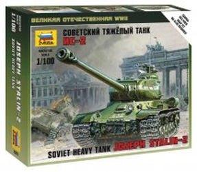 Фото Сборная модель Советский тяжелый танк ИС-2 (6201)