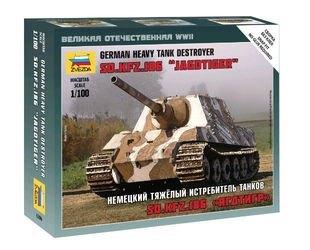 Фото Сборная модель Немецкий тяжелый истребитель танков Ягдтигр (6206)