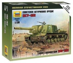 Фото Сборная модель Советский танк ИСУ-152 (6207)