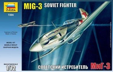 Фото Сборная модель Самолет МИГ-3 склейка (7204)