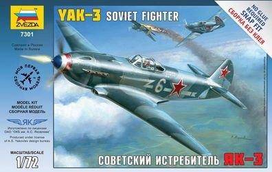 Фото Сборная модель Самолета Як-3 (7301)