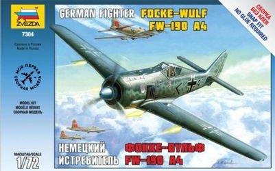 Фото Сборная модель Немецкий истребитель Фокке Вульф FW-190F4 (7304)