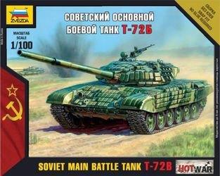 Фото Сборная модель Советский танк Т-72Б (7400)