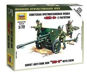 Фото Сборная модель Советская противотанковая пушка ЗИС-3 (6253)