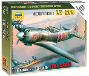 Фото Сборная модель Советский истребитель ЛА-5ФН (6255)