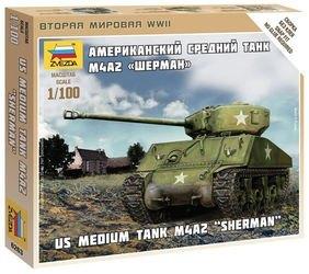 Фото Сборная модель Американский танк Шерман (6263)