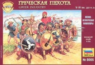 Фото Сборная модель Греческая пехота (8005)