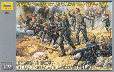 Фото Сборная модель Немецкая пехота Первой Мировой войны (8083)