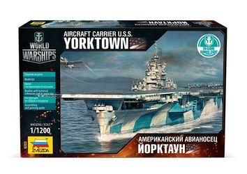 Фото Сборная модель Авианосец Йорктаун  (бонусный код World of warships) (9203)