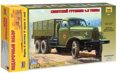 Фото Сборная модель Советский грузовик 4,5 тонны (ЗиС-151) подарочный набор (3541ПН)