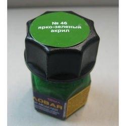 Фото Краска для моделей ярко-зеленая Акрил-46