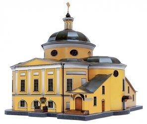 Сборная модель Покровский храм (Матрона Московская, 215) фотография 1