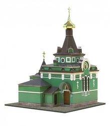 Сборная модель из картона Часовня Ксении Петербургской (197) фотография 1