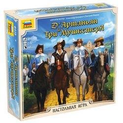 Фото Настольная игра Д'артаньян и три мушкетера (8935)