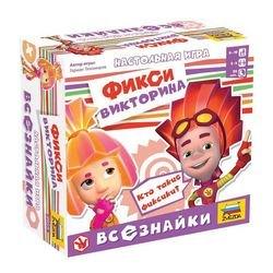 Фото Настольная игра Викторина Фиксики Всезнайки (8959)