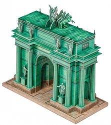 Сборная модель Нарвские ворота (Санкт-Петербург, 358) фотография 2