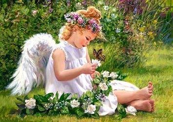"Фото Пазл ""Ангел в саду"", 500 элементов (В-51991)"