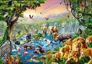 """Фото Пазл """"Река в джунглях"""", 500 элементов(В-52141)"""
