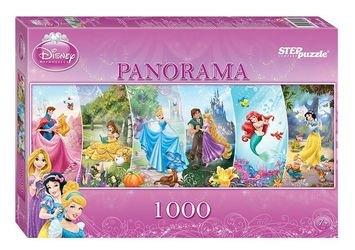 Фото Пазл Дисней панорама Принцессы 1000 элементов (79450)