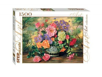 Фото Пазл Цветы в вазе 1500 элементов (83019)