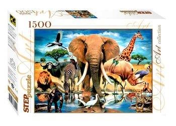 """Фото Пазл """"В мире животных"""", 1500 элементов (83042)"""