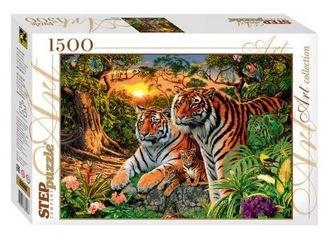 Фото Пазл Сколько тигров? 1500 элементов (83048)