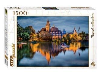 "Фото Пазл ""Замок у озера"", 1500 элементов (83050)"